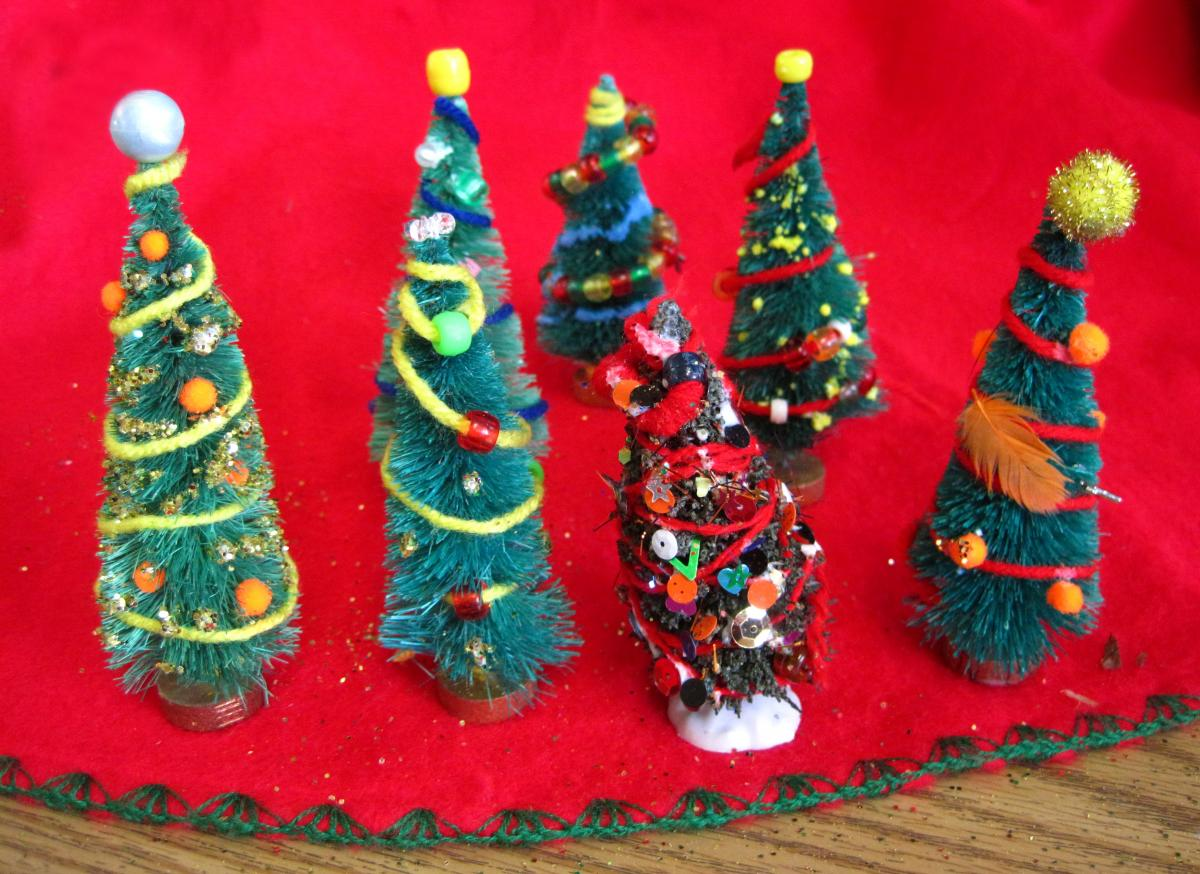 Pictures Of Themed Christmas Trees