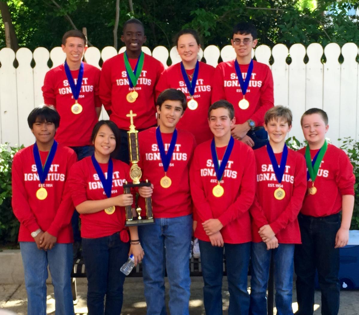 Congratulations To The St Ignatius Academic Decathlon Team St