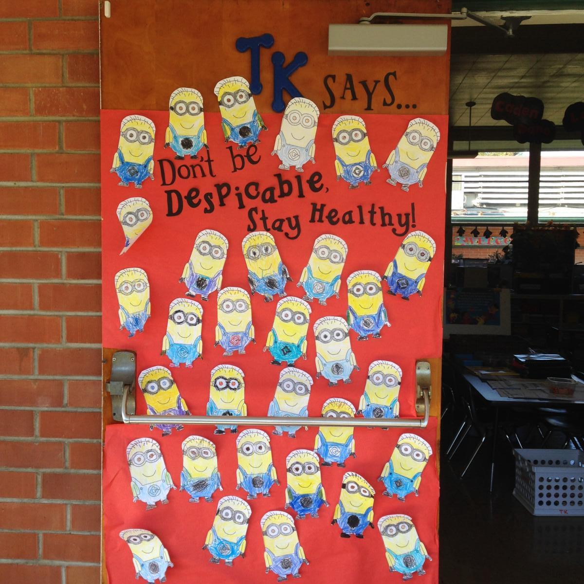 Red Ribbon Week Doors St Ignatius Parish School